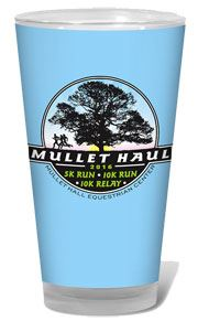 The Mullet Haul Pub Glass Award