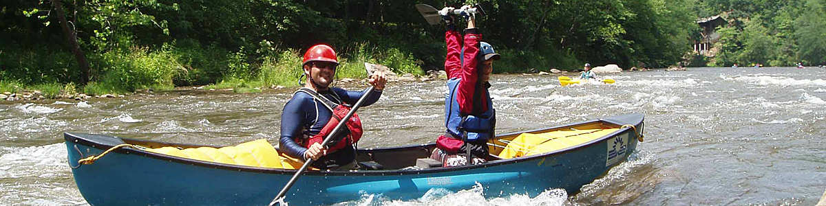 Whitewater adventure at Teen Venture Camp