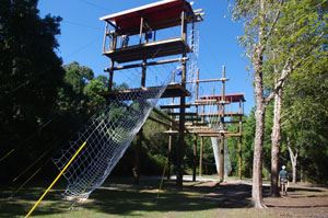 The Challenge Course at James Island County Park