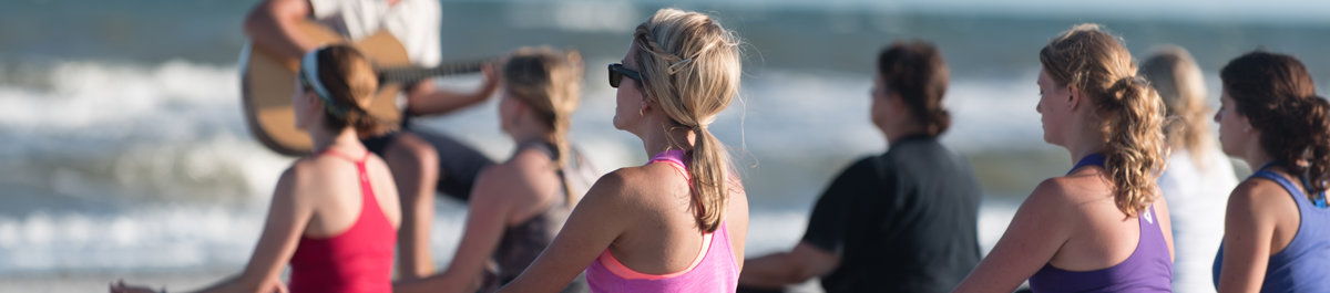 Yoga Unplugged at Folly Beach