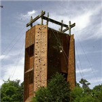 Climbing Wall at James Island County Park