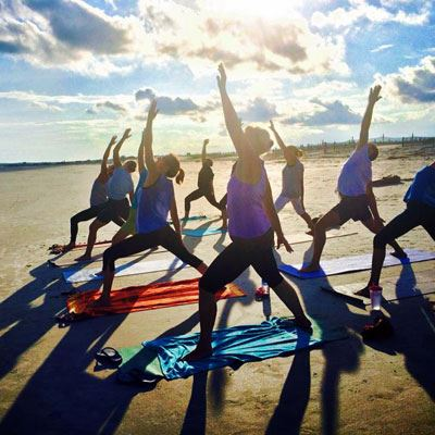 Beachside Yoga on Folly Beach