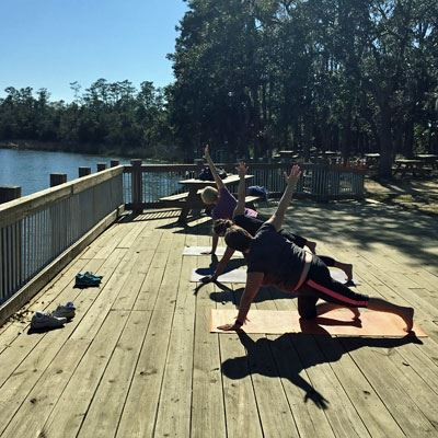 Creekside Yoga at Palmetto Islands County Park