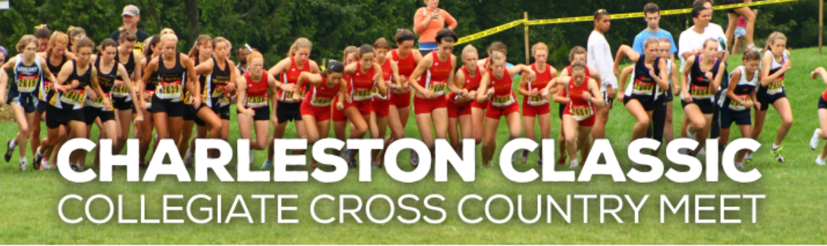 Charleston Classic and collegiate cross country runners in competition