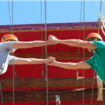 Challenge Course Couple