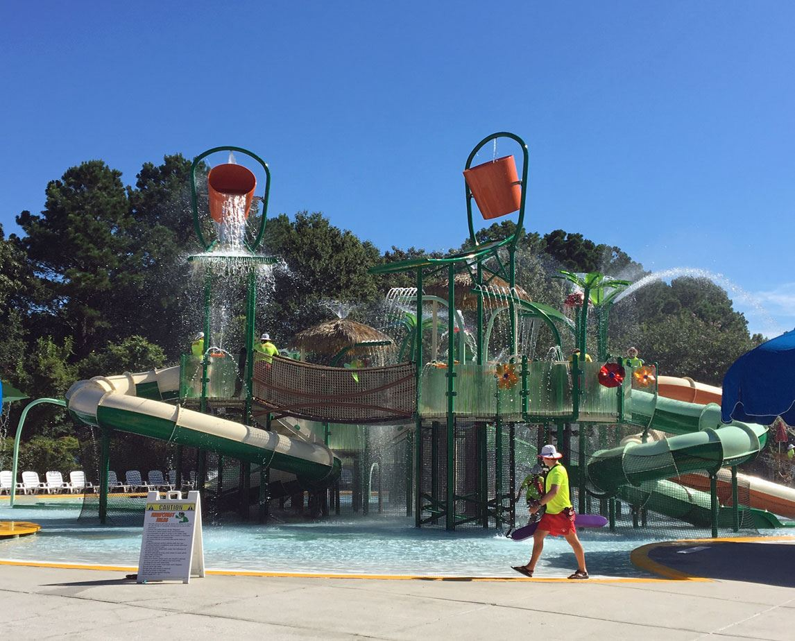 New rainforest attraction at Splash Zone Waterpark