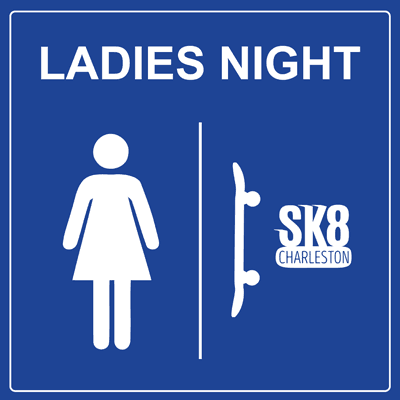 Ladies Night at SK8 Charleston