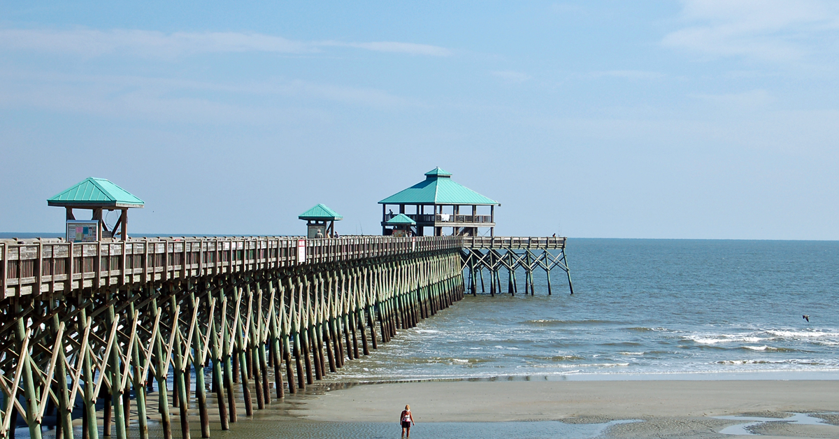 The Folly Beach Pier