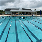 The pool at West County Aquatic Center