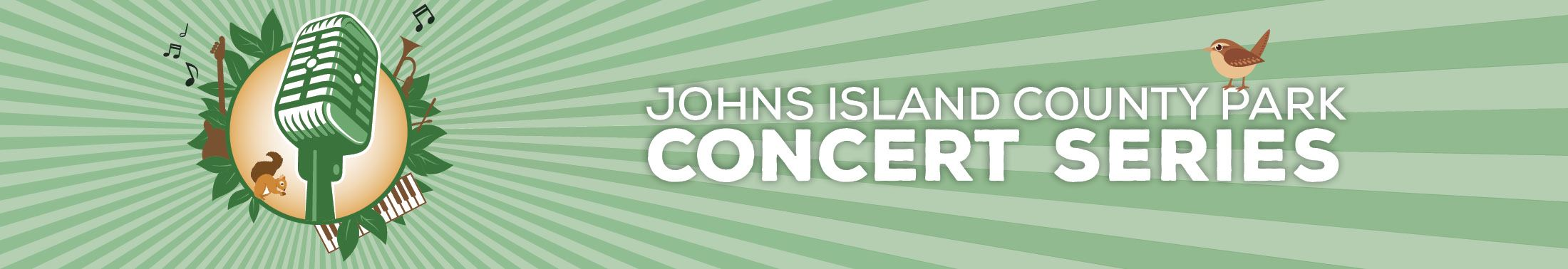 Web banner for the Johns Island County Park Concert Series