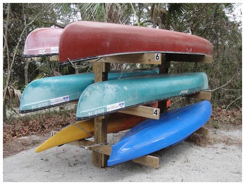 Kayak Canoe Storage Rack Al Charleston County Parks And Recreation