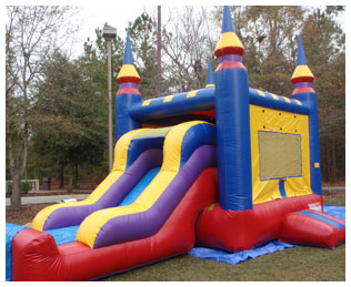 Jump Castle Party Area