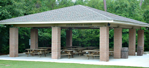 The Cottonwood- Shelter at Wannamaker County Park