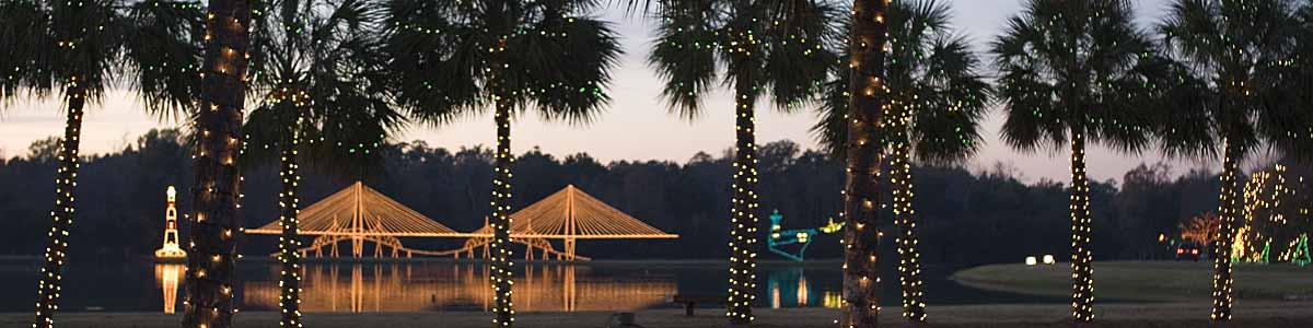 Holiday Festival Of Lights Charleston County Parks And Recreation - Christmas Lights In Sc