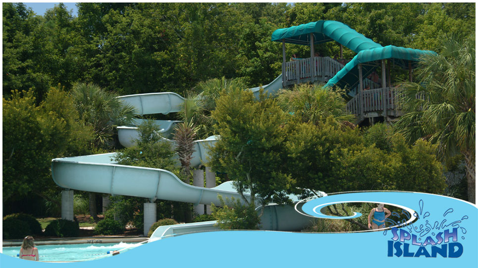 Splash Island Waterpark Charleston County Parks And