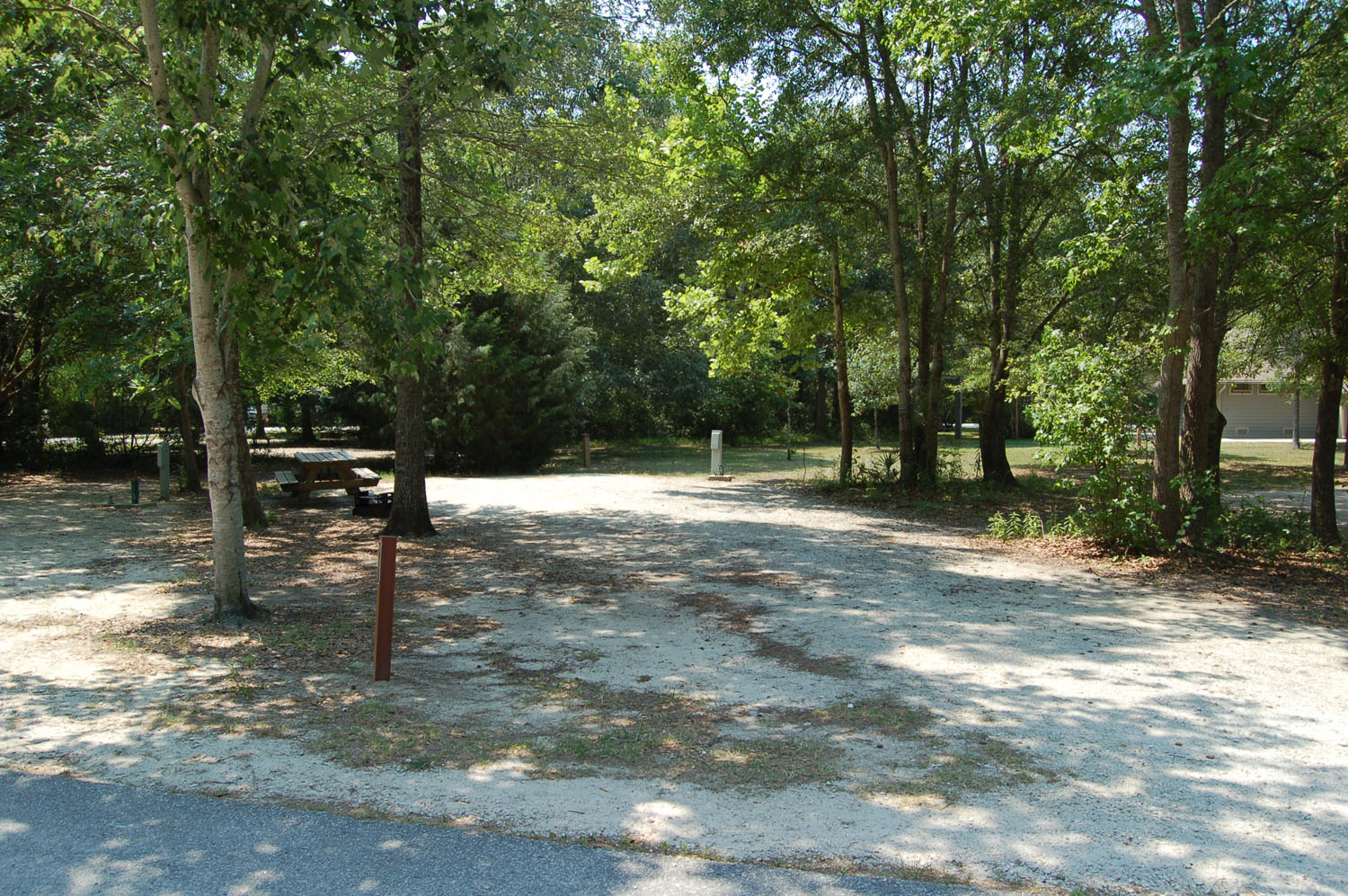 Image of Site #111 at the Campground at James Island County Park