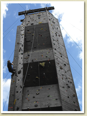 Image of climbing wall