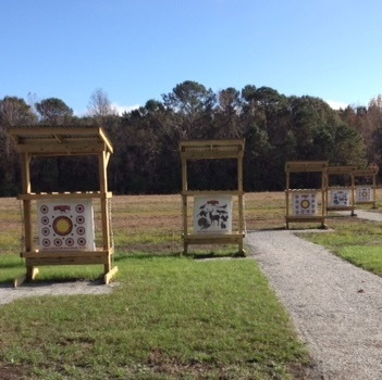 Image of archery range