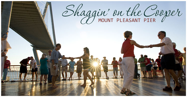 Shaggin on the Cooper at the Mount Pleasant Pier