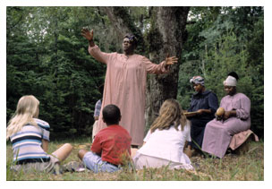 Image of Gullah storytelling